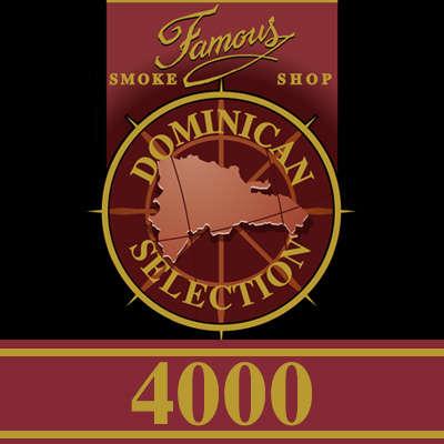 Famous Dominican Selection 4000 Churchill 5PK-CI-FD4-CHUN205P - 400