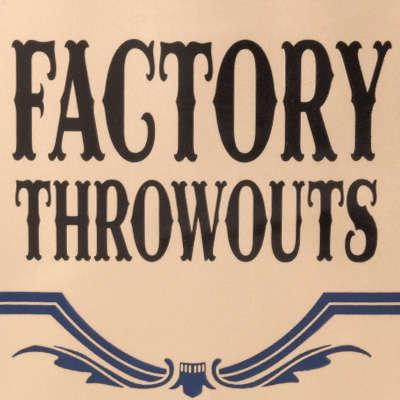 Factory Throwouts No. 59 Sweet-CI-FTO-59SZ - 400