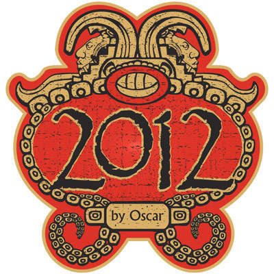 2012 By Oscar Short Robusto Maduro 5PK-CI-O12-SROBM5PK - 400