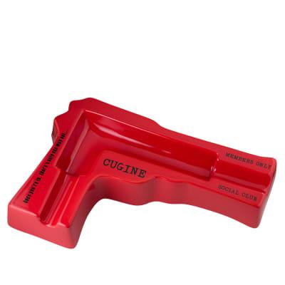 Cugine Ceramic Ashtray Red - AT-CUG-RED
