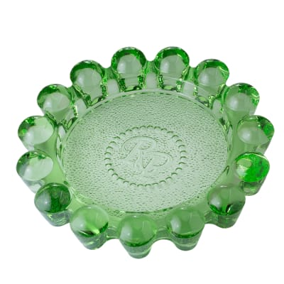 Rocky Patel Luxury Circulos Green Ashtray - AT-RP-LUXCRGRN