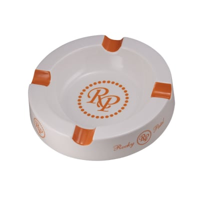Rocky Patel Round Ceramic Ashtray - AT-RP-ROUND