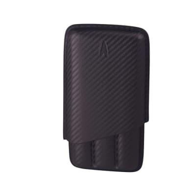 Lotus 62 Ring Carbon Fiber 3 Cigar Case - CC-LTS-LCC623CF