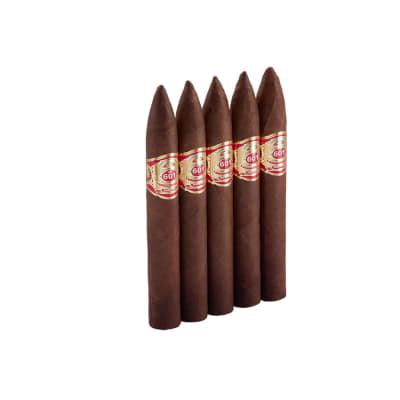 601 Red Label Habano Torpedo 5 Pack-CI-6HR-TORPN5PK - 400