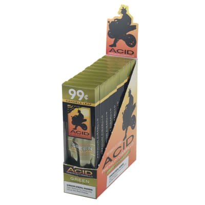 Acid Cigarillos Green-CI-ACG-GREN - 400