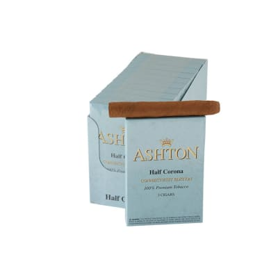 Ashton Small Cigars Half Corona Connecticut 10/5-CI-ACT-HACN - 400