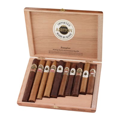 Ashton 10 Cigar Assortment-CI-ASH-10SAM - 400