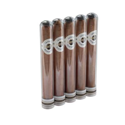 Ashton Classic Crystal Belicoso (Glass Tube) 5 Pack-CI-ASH-CRYBELN5 - 400