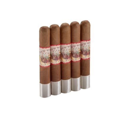 New World Connecticut by AJF Robusto 5 Pack-CI-AWC-ROBN5PK - 400