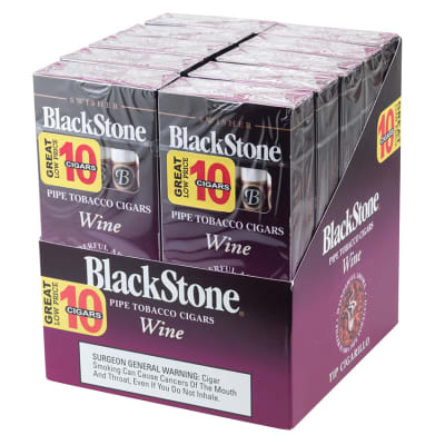Blackstone by Swisher Wine Tip 10/10-CI-BLK-WINPK - 400