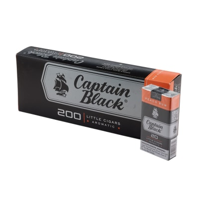 Captain Black Little Cigars Peach Rum 10/20-CI-CBF-PEACH - 400