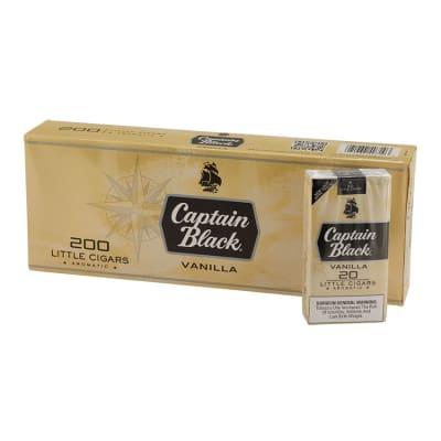 Captain Black Little Cigars Vanilla 10/20-CI-CBF-VANILLA - 400