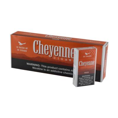 Cheyenne Peach Flavor 100's 10/20 - CI-CHY-PEACH
