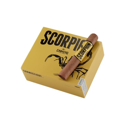 Camacho Scorpion Robusto Connecticut - CI-CSR-ROBN