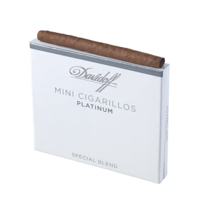 Davidoff Mini Cigarillos Platinum (10)-CI-DAV-MINP10Z - 400
