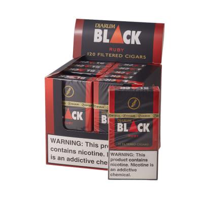Djarum Black Ruby Filtered Cigar 10/12-CI-DJM-BLKCHPK - 400