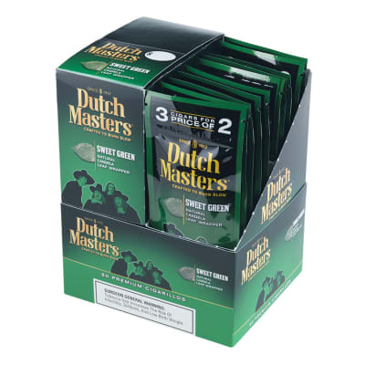 Dutch Masters Cigarillos Sweet Green 20/3-CI-DUC-SWTGRN - 400