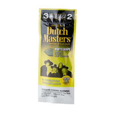 Dutch Masters Cigarillos White Grape (3)-CI-DUC-WHTGRPZ - 400