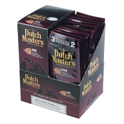Dutch Masters Cigarillos Wine 20/3-CI-DUC-WINE - 400