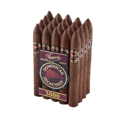 Famous Dominican Selection 3000 Belicoso-CI-FD3-BELN - 400