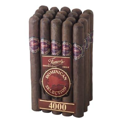 Famous Dominican Selection 4000 Lonsdale-CI-FD4-LONM20 - 400