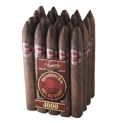 Famous Dominican Selection 4000 Torpedo-CI-FD4-TORPM20 - 400