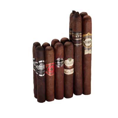 12 Maduro Cigars No. 1 Sampler of 12