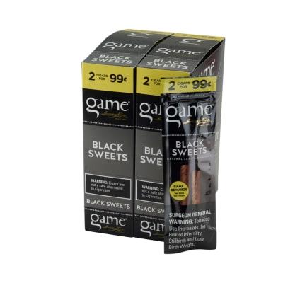 Garcia y Vega Game Cigarillos Black 30/2 - CI-GCI-BLKUP99