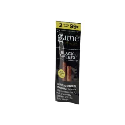 Garcia y Vega Game Cigarillos Black (2)-CI-GCI-BLKUP99Z - 400