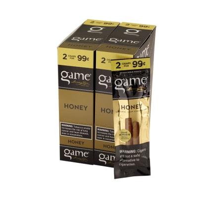 Garcia y Vega Game Cigarillos Honey 30/2 - CI-GCI-GOLUP99