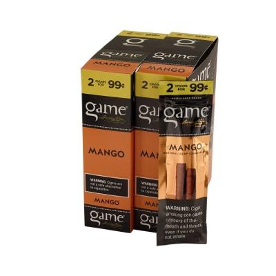 Garcia y Vega Game Cigarillos Mango 30/2-CI-GCI-MANUP99 - 400