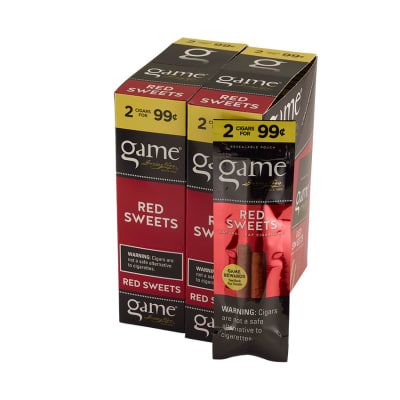 Garcia y Vega Game Cigarillos Red 30/2-CI-GCI-REDUP99 - 400