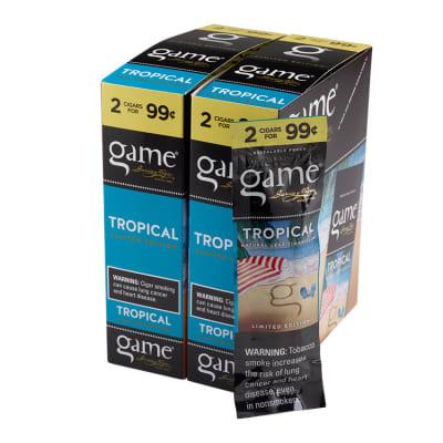 Garcia y Vega Game Cigarillos Tropical 30/2-CI-GCI-TRO99 - 400