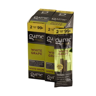 Garcia y Vega Game Cigarillos White Grape 30/2-CI-GCI-WGUP99 - 400