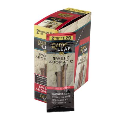 Garcia y Vega Game Leaf Cigarillos Sweet Aromatic 15/2 - CI-GCL-AROUP29