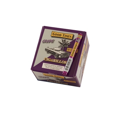Good Times Cigarillos Grape-CI-GDT-GRPN - 400