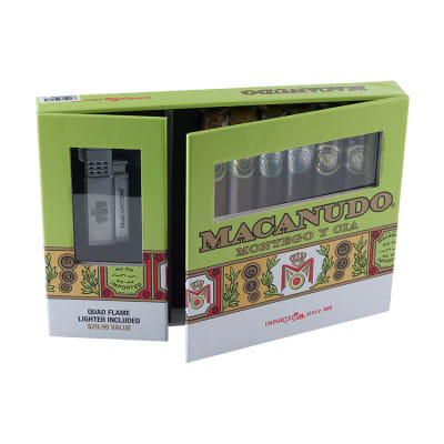 Macanudo Collection With Lighter - CI-GEN-MACLIG16