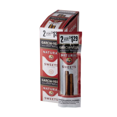 Garcia y Vega Natural Sweets Cigarillos 15/2-CI-GYV-SWT129 - 400