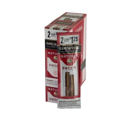 Garcia y Vega Natural Sweets Cigarillos 15/2-CI-GYV-SWT129 - 400