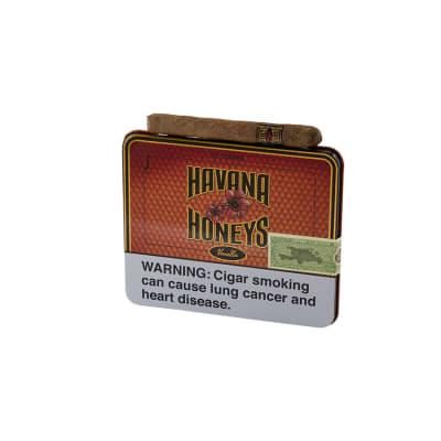 Havana Honeys Dominican Cigarillos Vanilla (10)-CI-HAH-TINVANZ - 400