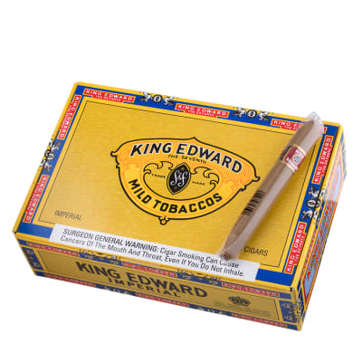 King Edward Imperial Cigars Box Of 50