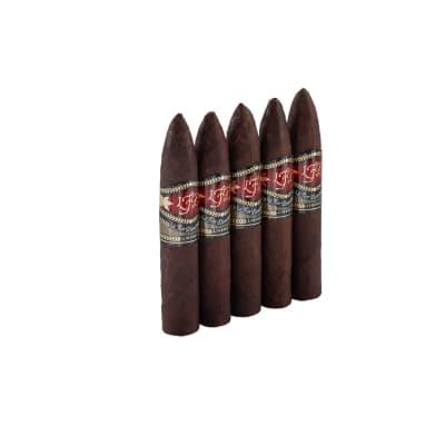 La Flor Dominicana Ligero Cabinet Oscuro Torpedito 5 Pack-CI-LFC-TORPM5PK - 400