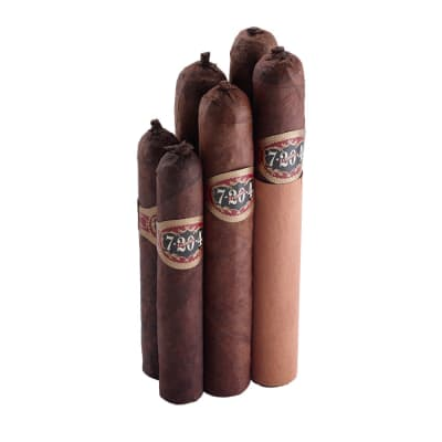 7-20-4 Six Cigar Sampler-CI-LIQ-PSTUL - 400