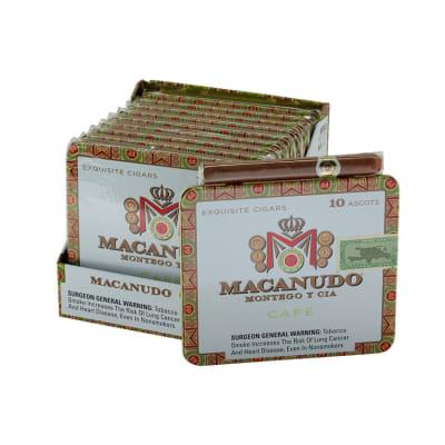 Macanudo Cafe Ascot 10/10-CI-MAC-ASCOTN - 400