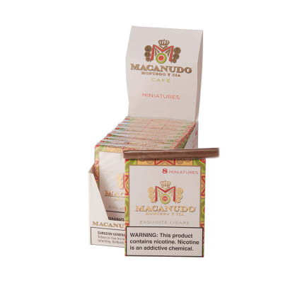 Macanudo Cafe Miniatures 10/8 - CI-MAC-MINN