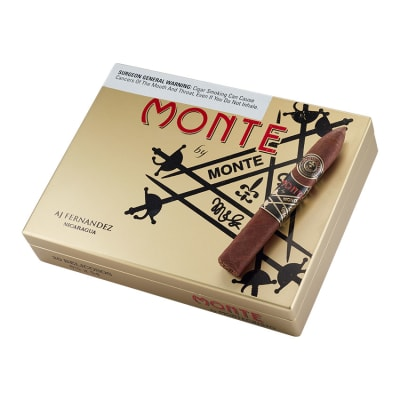 Monte By Montecristo By AJ Fernandez Belicoso-CI-MAF-BELN - 400