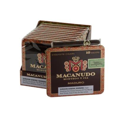 Macanudo Maduro Ascot 10/10 - CI-MAM-ASCOTM