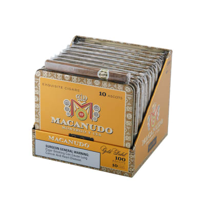Macanudo Gold Label Ascot 10/10 - CI-MGL-ASCTN