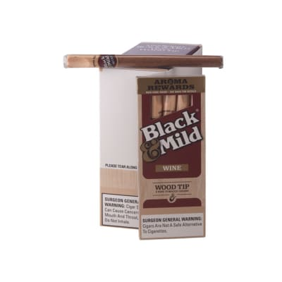 Black & Mild By Middleton Wine Wood Tip 10/5-CI-MID-WINWDPK - 400