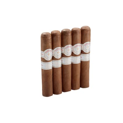 Montecristo White Rothschilde 5 Pack-CI-MTW-ROTN5PK - 400